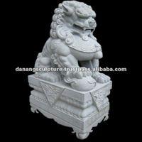 Fu dog stone sculpture DSF-T063