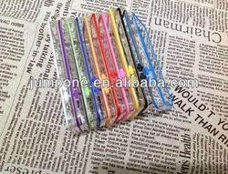 transparent bumper plastic Case For iPhone 5C