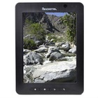 Pandigital SuperNova 1.06GHz 512MB 4GB 8in Capacitive Touchscreen Tablet Android with Dual Cams Kindle ready (Black)