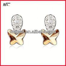 Free Shipping best service Earrings,Wholesale Crystal High Quality Fashion Earrings austria crystal earrings