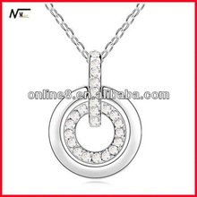 good necklace New Model Crystal Charm Necklace,popular pendant fashion jewelry significance of necklace