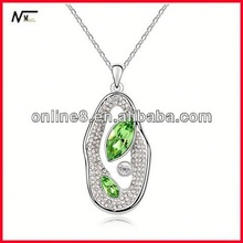 old factory necklace New Model Crystal Charm Necklace,popular pendant metal alloy stretch necklaces