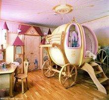 princess cart bed