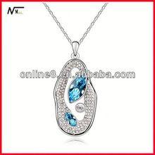 Us stardard collier nouveau modèle collier avec pendentif en cristal, Populaire pendentif lampes suspendues mosaïque