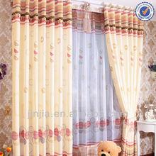 Z-Euro style popular printed curtain fabric hotel furniture curtain design