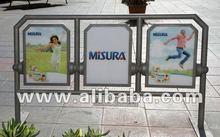 MultiSit advertising sitting fencing