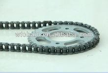 Motorcycle sprocket and chain kits used BAJAJ motorcycle--motorcycle spare parts