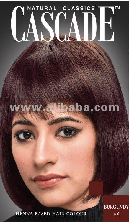 Natural Classics' CASCADE Henna a base de Color de pelo - borgoña ...