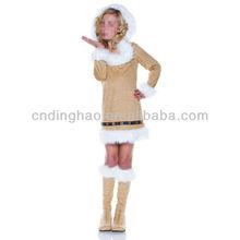 Christmas Clothes Eskimo Girl Child Costume