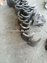 precision casting shell casting cast method lining plate
