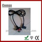 UK BS Standard 3 pin plug England power cord
