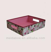 Pink Pattern Paper Basket