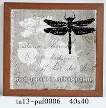 Alto quanlity enmarcado imagen libélula