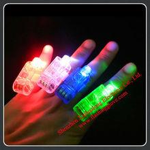 Wholesale Elastic Ring LED Finger Lights Small LED Gift for Children