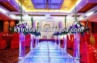 cheap movable folding aluminum wedding mandap stage