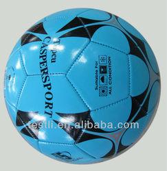metallic PVC soccer ball/football supplier