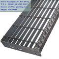 Galv ronda de barras de rejilla, de acero galvanizado rejilla de piso, galv de metal barra de rejilla