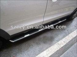 Aluminum car side pedal/ footstep for Audi Q3 2010-2012