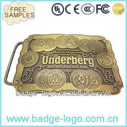 wholesale belt buckles for men in zinc alloy