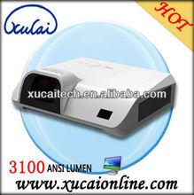 Portable 3100 Lumens ansi lumens short throw projector LX235ST