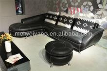 WOCHE nicoletti furniture corner leather sofa,leather sofas and home furniture,steel sofa bed WQ6911