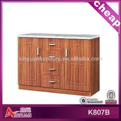 pvc fashion kitchen wood plate racks cabinet