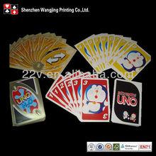 oem special shape playing cards/poker cards, oem novelty shape poker card