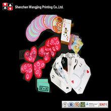 oem novelty shape playing cards/poker cards, oem novelty shape poker card