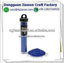 blue glitter powder tube package