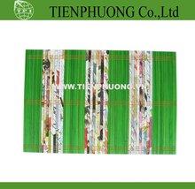 paper and bamboo mat 30x45 Cm, 100% natural material