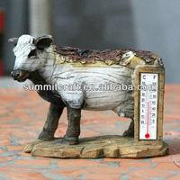 custom resin decorative indoor thermometer