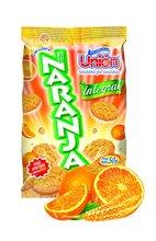 Galleta lonchera de naranja integral