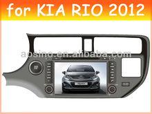 car audio radio car dvd player for KIA RIO 2012 with bluetooth gps navigation