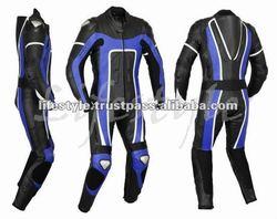 Leather Motorcycle Racing Suit, Biker Sports Suit, Road Racing Suit