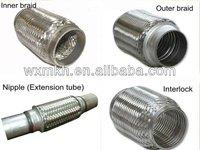 stainless steel muffler flex pipe