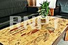 Riverside Scene at Qingming Festival Printed Table Mat ----Hot sale type food mat