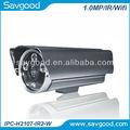 De largo alcance del sistema de vigilancia con 30fps@ 720p( 1280x720) resolución, ir led, barato ir cámara ip inalámbrica
