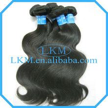 Popular Products 2013 Human Virgin Hair 8-32inch Body Wave Brazil Hair