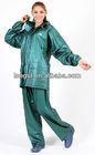 2013 newest pvc rain coats for women T3002C