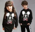 mickey mouse crianças roupas de algodão impressão de roupas para crianças com alta qualidade