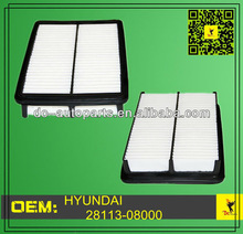 Auto Parts Hyundai / Kia 28113-08000 Air Filter For 2005-2009 Hyundai Truck Tuscon,2005-2010 Kia Truck Sportage