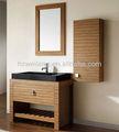 Mdf armário de banheiro com espelho armário TT-065
