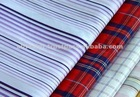 High Quality Low Price Woven Fabric Cotton Yarn Dyed Fabric