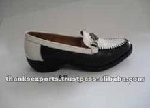 Autumn season on sale white genuine leather women shoes