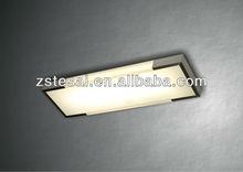 Hot sale rectangular modern aluminum ceiling lamp for residential LC5030-SL