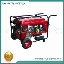 High quality leading 5000watt petrol gasoline generator