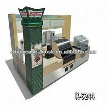 elegant looking cheap price 12*10 ft ice cream kiosk juice juice kiosk yogurt kiosk