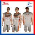 La sublimación de encargo del uniforme del baloncesto barato venta al por mayor