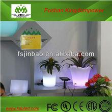 Home decoration pots/plastic garden furniture/ LED flower pots