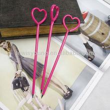 Heart shape ball pen Lovely girls gift pen